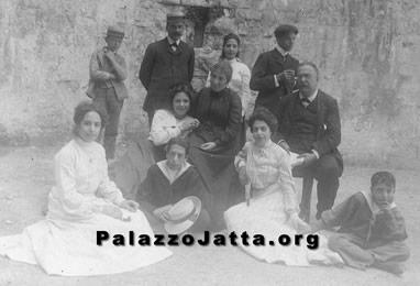 Giovanni Jatta junior con la famiglia