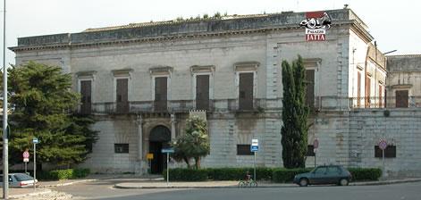 Facciata del Palazzo Jatta sede del Museo Nazionale Jatta