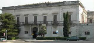 La facciata di Palazzo Jatta