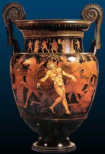 Vaso di Talos - Museo Jatta